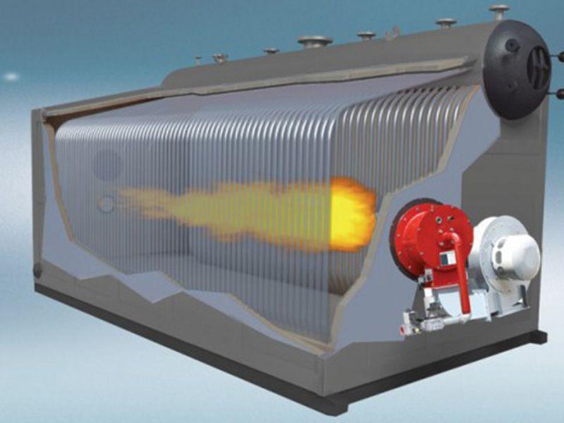 szs系列燃油燃气锅炉结构
